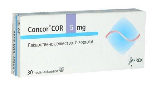 Concor COR 1.5 5 7.5 10 tabletki
