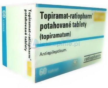 Topiramat-Ratiopharm tabletki powlekane