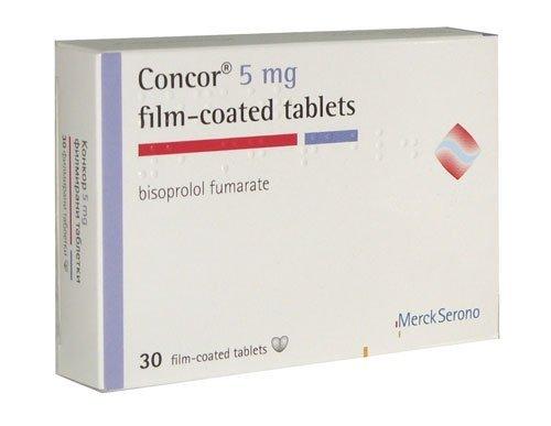 Concor 5 10 tabletki