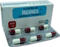 Hiconcil 500 mg cena