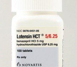 Lotensin HCT - opakowanie produktu