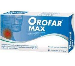 orofar max tabletki