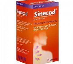 sinecod syrop