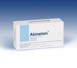Akineton tabletki