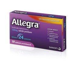 Allegra tabletki