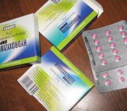 Hydroxyzinum tabletki