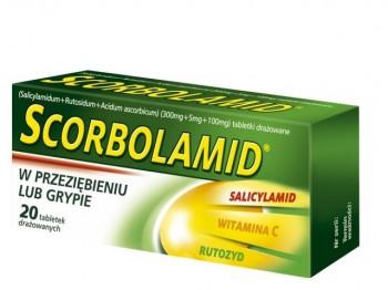 Scorbolamid tabletki drażowane