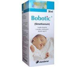 Dla dzieci i niemowląt Bobotic - simeticonum kolka u dzieci - krople doustne o smaku malinowym 66.66mg/ml 30ml