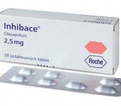 Inhibace - opakowanie produktu