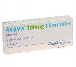 Arava tabletki