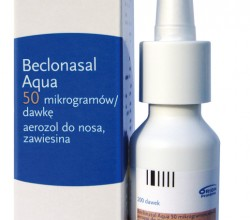 Beclonasal aqua aerozol