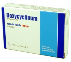 Doxycyclinum kapsułki