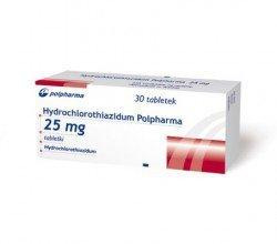 Hydrochlorothiazidum tabletki