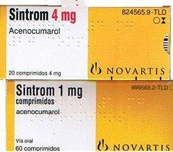 Sintrom tabletki