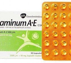 Vitaminum A + E GSK tabletki