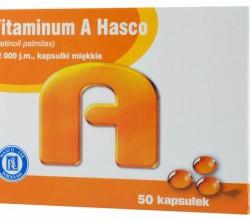 Vitaminum A Hasco kapsułki