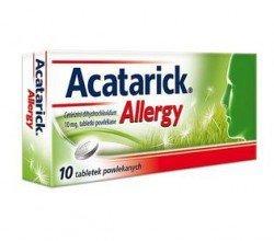 acatarick allergy tabletki