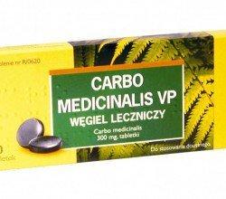 carbo medicinalis tabletki