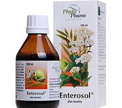 Układ pokarmowy Enterosol płyn 100 g