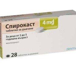 Spirokast tabletki