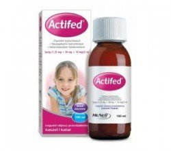 Actifed syrop
