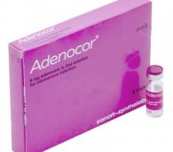 Adenocor roztwór