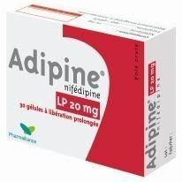 Adipine tabletki