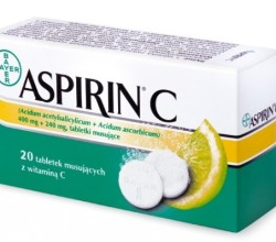 Aspirin C tabletki musujące