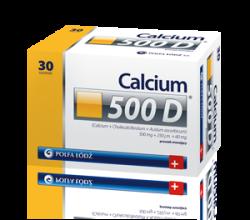 Calcium 500D tabletki