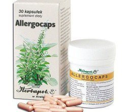 Leki przeciwalergiczne OTC HERBAPOL KRAKÓW ALLERGOCAPS 30 KAPS.