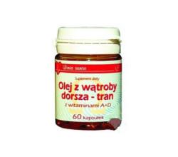 olej z wątroby dorsza