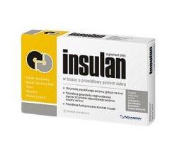 Insulan tabletki