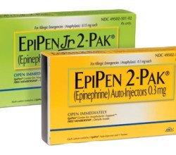 EpiPen iniekcje