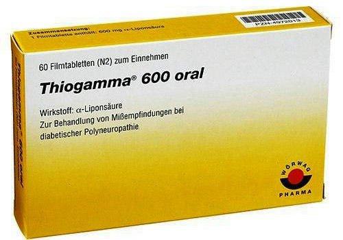 Thiogamma 600