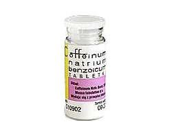 Coffeinum natrium benzoicum