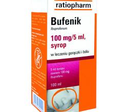Bufenik syrop w leczeniu gorączki i bólu