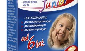 Ibufen Junior kapsułki