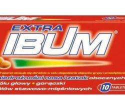 Ibum Grip 10 tabletek