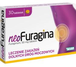 NeoFuragina tabletki leczenie zakażeń