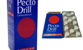 pectodrill tabletki do ssania syrop