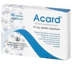Acard tabletki dojelitowe