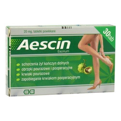 Aescin tabletki