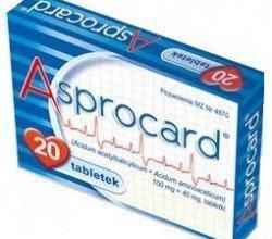 Asprocard tabletki nasercowe