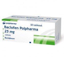 Baclofen tabletki