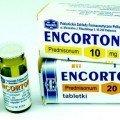 Encorton tabletki