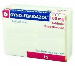 Gyno-Femidazol tabletki dopochwowe