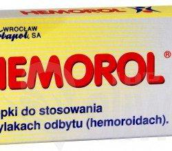 Hemorol czopki