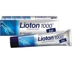 Lioton żel