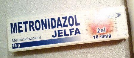 Metronidazol Jelfa krem żel