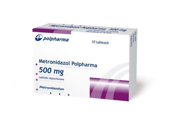 Metronidazol (tabletki dopochwowe)